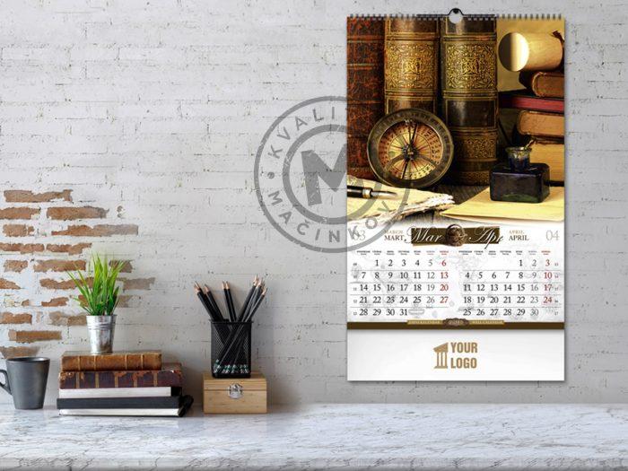 calendar-antique-march-april
