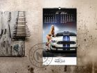 calendar girls and cars july-aug