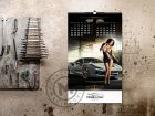 calendar girls and cars march-april