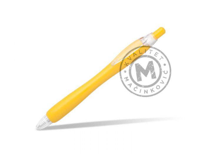 hemijska-olovka-malibu-zuta