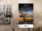 kalendar girls and cars maj-jun