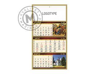 Wall Calendar, Monasteries