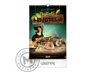 Wall Calendar, Best Friends