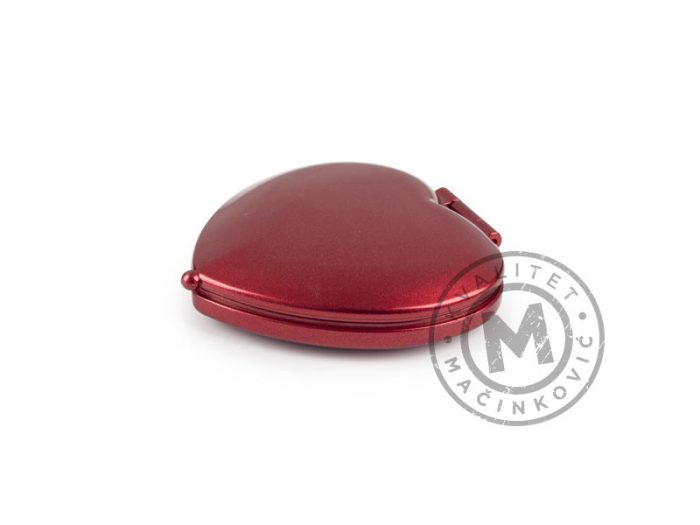 plasticno-ogledalce-corazon-crveno