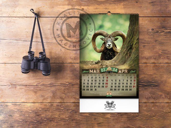 wall-calendar-dobar-pogled-march-april