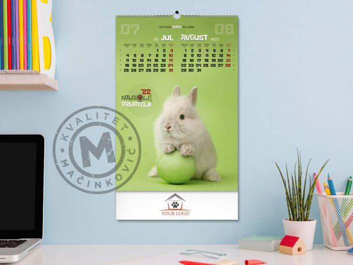 zidni-kalendar-najbolji-prijatelji-jul-avg