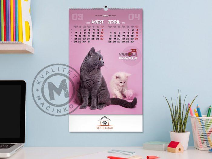 zidni-kalendar-najbolji-prijatelji-mart-april