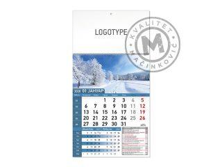 Wall Calendar, Nature 58