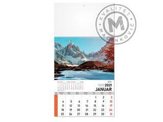 Zidni kalendari, Priroda 58