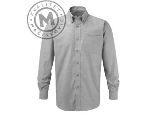 Men Long-sleeved Shirt, Oxford LSL Men