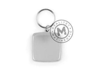Metalni privezak za ključeve, Titan