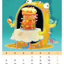 Kalendar '15, Holesterol