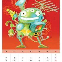 Kalendar '15, Haarp