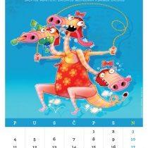Kalendar '15, Dijeta-Fitnes&Makrobiotika