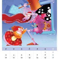 Kalendar '15, Promaja