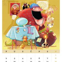 Kalendar '15, Horoskop