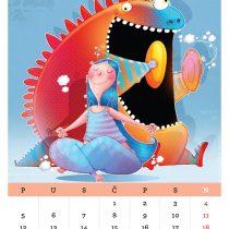 Kalendar '15, Stres