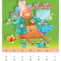 Kalendar '15, Homeopatija