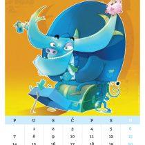 Kalendar '15, Dozvoljeni minus