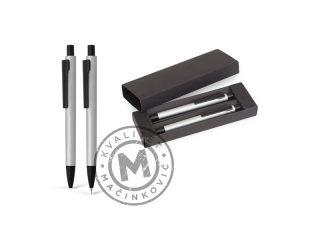 Metalna tehnička i hemijska olovka u setu, Noar