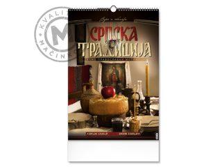 Zidni kalendar, Srpska tradicija