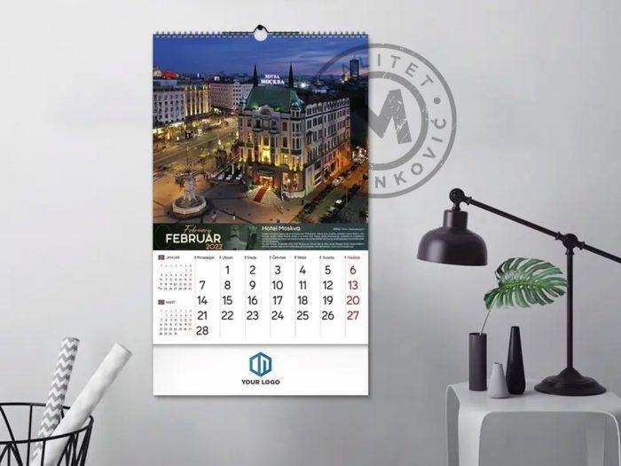 wall-calendars-belgrade-february