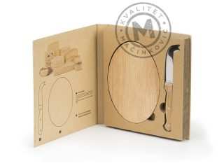 Cheese Knife and Chopping Board Set, Padano