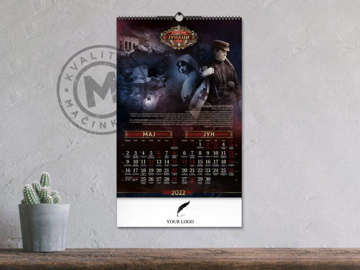 wall-calendar-serbian-heroes-may-june