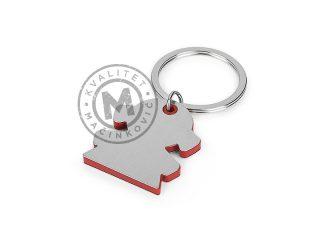 Metalni privezak za ključeve, Girl