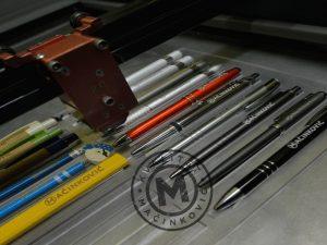 Laserska gravura na olovkama 1
