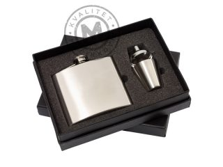 Hip Flask in a Gift Box, Cowboy