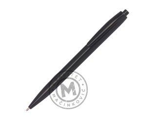 Plastična hemijska olovka sa crnim mastilom, Plain