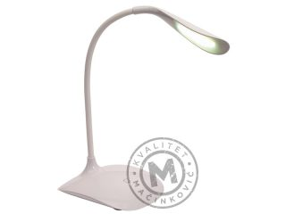 Desk Lamp with flexible swivel lighting arm, Swan