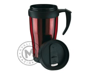 Double-walled Travel Mug, Warm-up