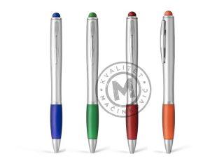 Plastična hemijska olovka sa LED efektom, Aurora