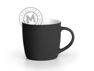 Ceramic Mug with Soft Touch Finish, Soft Berry