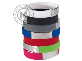 Wristband Made of Silicone, Strong