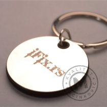 Metal Key Chain with Engraving