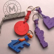 Key Chains of EVA Foam with Engraving
