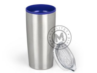 Metal Travel Mug, Steel