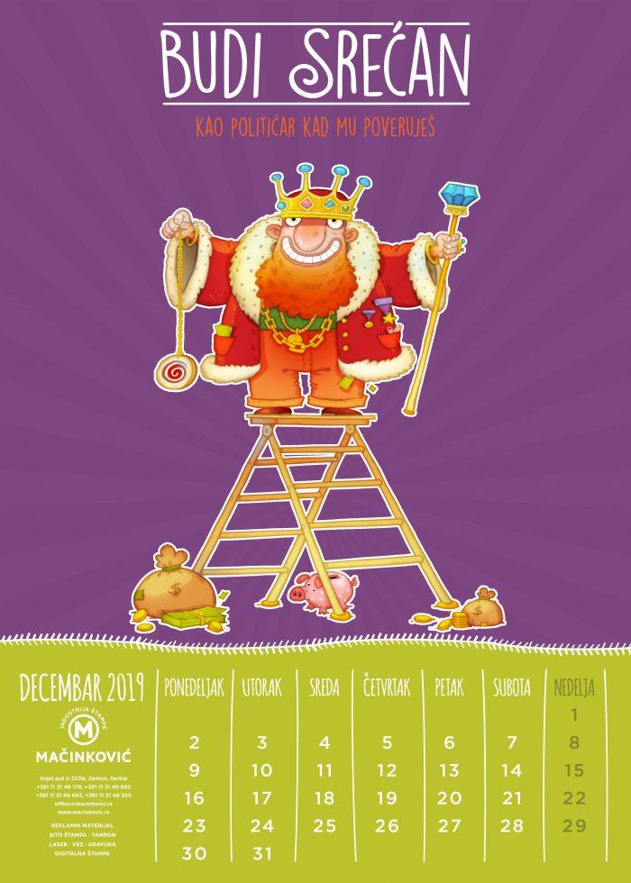 kalendar macinkovic decembar