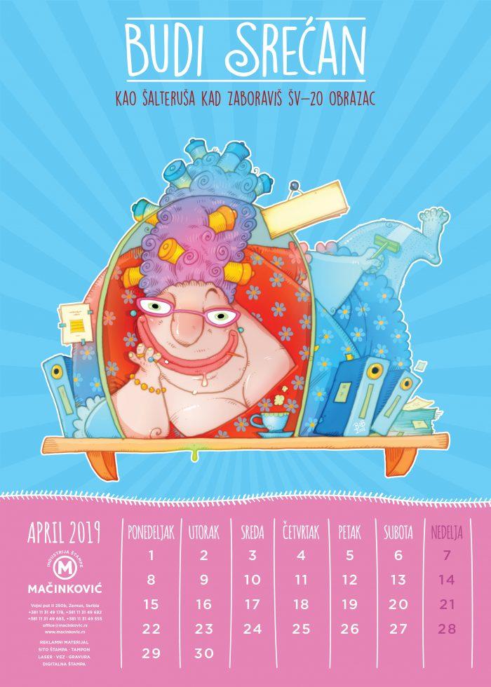kalendar macinkovic april