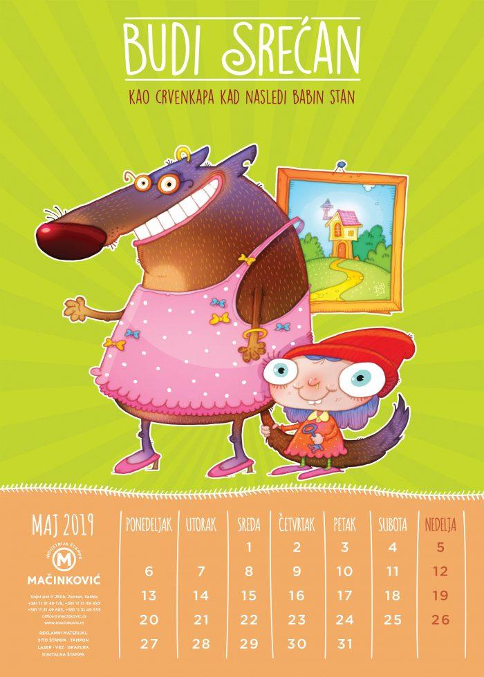 kalendar macinkovic maj