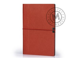 A5 notebook with rounded edges, Basel