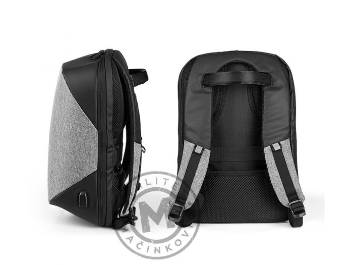 Anti-theft backpack with USB connector, Charlie