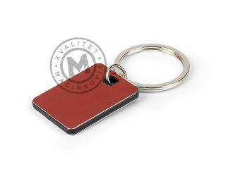 Metalni privezak za ključeve, Cubino Colore
