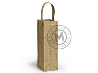 Jute bottle bag, Madera