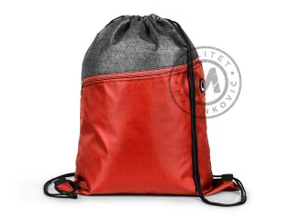Drawstring bag with reinforced angles, Walker
