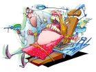 zubarska ordinacija ilustracija