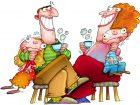 srecna porodica ilustracija